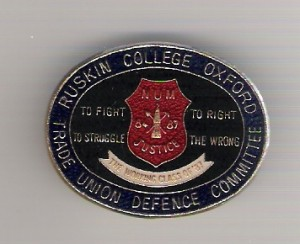 TUDC 1987 badge