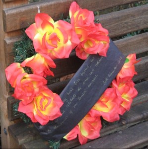 wreath laid at Governors' Demo November 30 2012