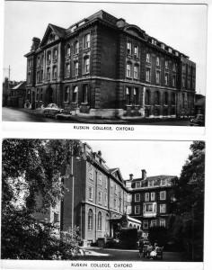 Ruskin Walton St postcard pics 1960s
